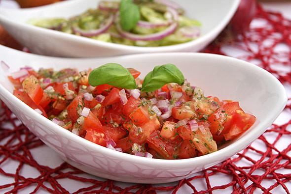 Catering-Tomatensalat