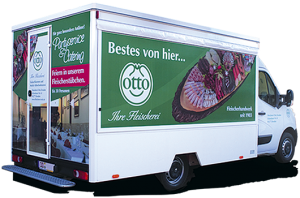 Wurst on Tour - Fleischereiauto